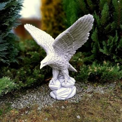 Sas sziklán álló szárnyal...