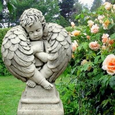 Bibliát szorongató angyalka...
