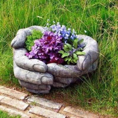 Ajándéktárgy Virágtartó kéz