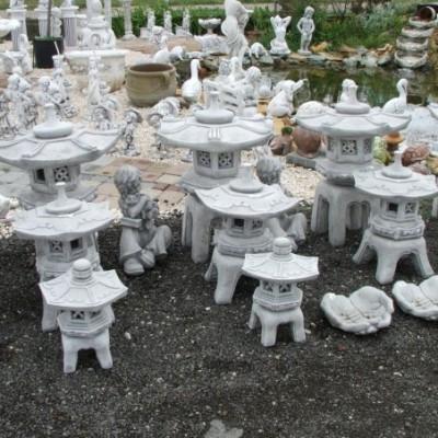 Pagoda kerti lámpás 1