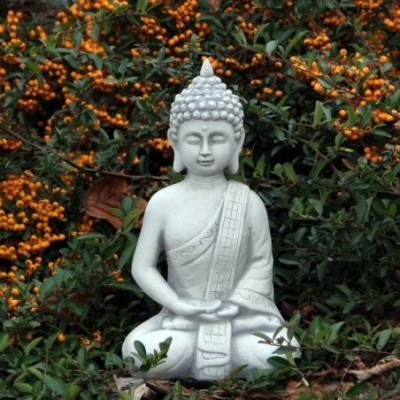 Buddha szobor mécses tartós