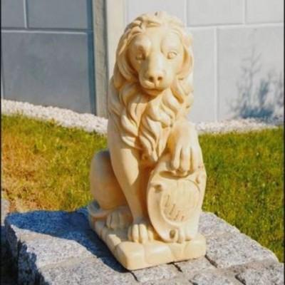 Kő oroszlán dísz szobor...