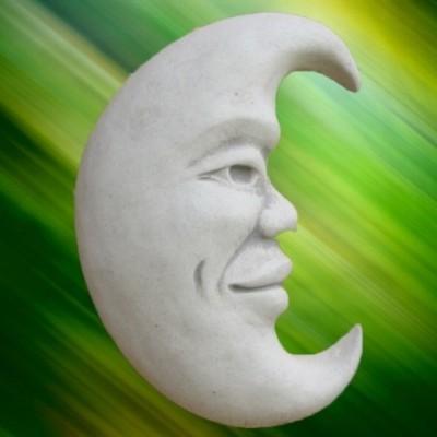 Kerti fali dekoráció hold