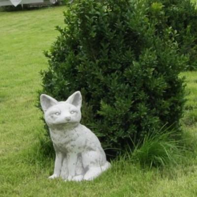 Állatszobrok Róka kerti figura