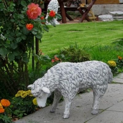 Állatszobrok bárány kerti...