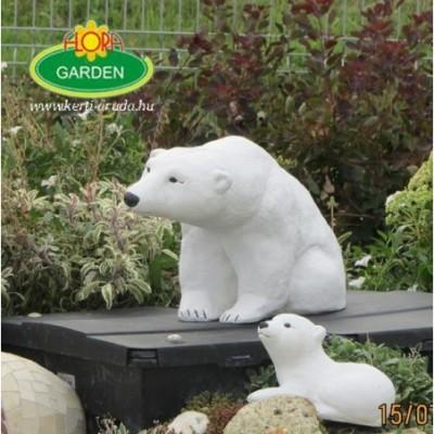 Kerti figurák jegesmedve nagy