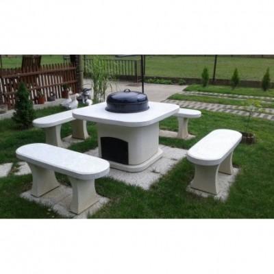 Modern kerti grill