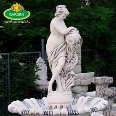 Nagy női szobros szökőkút...