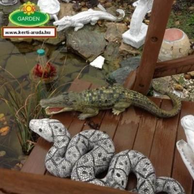 Krokodil aligátor kézzel...