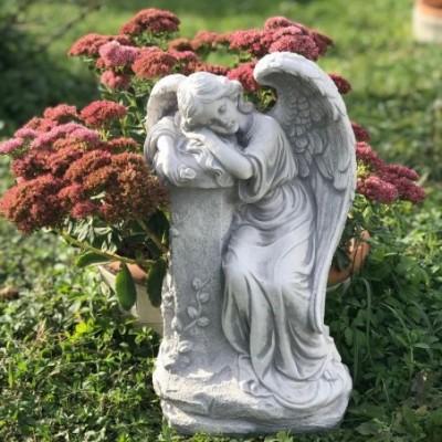 Angyal szobor sírra új