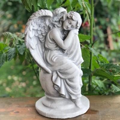 Sírkő angyal