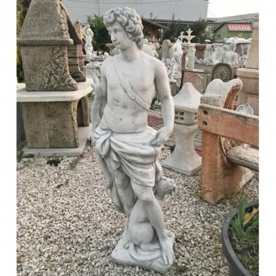 Íjász fiú 145cm férfi szobor