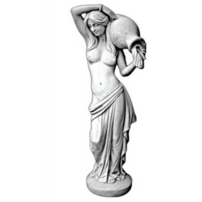 Vízöntő nő szobor új