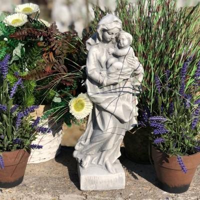 Szűzanya gyermekével szobor