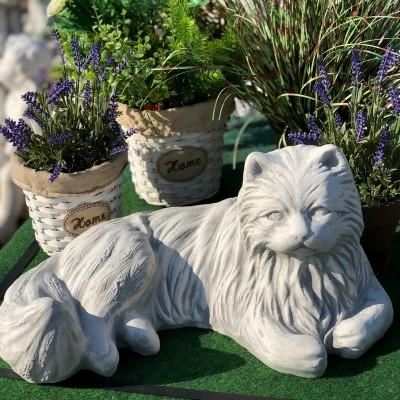 Macska, cica, kerti dísz szobrok