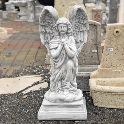 Sírkő angyal szobor