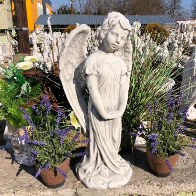 Műkő angyal