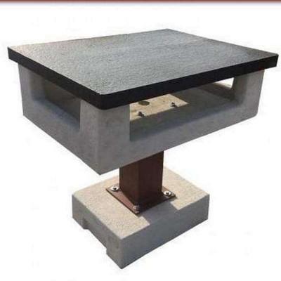 Modern stílusú kerti grill asztal