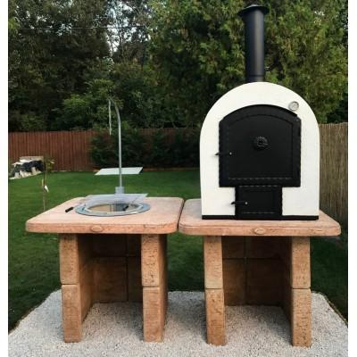 kerti grill asztal