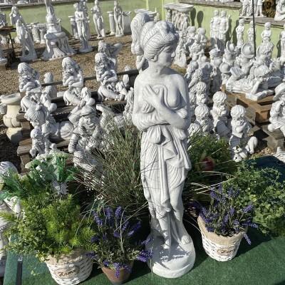 Női szobor lepellel 75cm