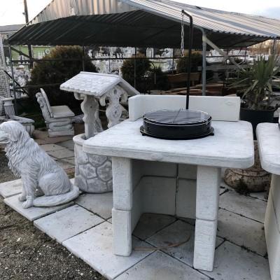 álló kerti grill