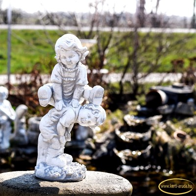 Kerti szobrok akció gyerekek