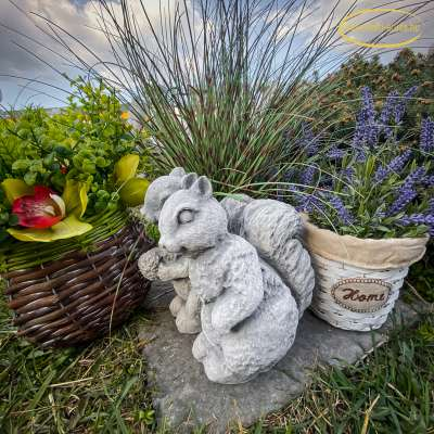 aranyos kerti figurák