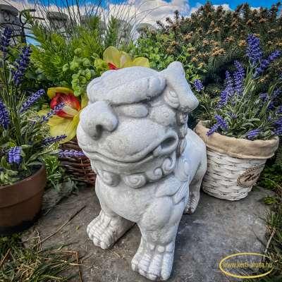 Kínai fo kutya kert dísz