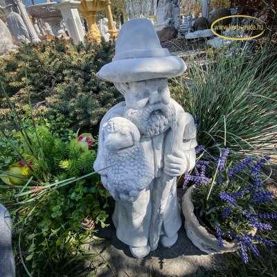 Kültéri szobor juhász pásztor