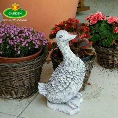 Kacsa aranyos kerti figura