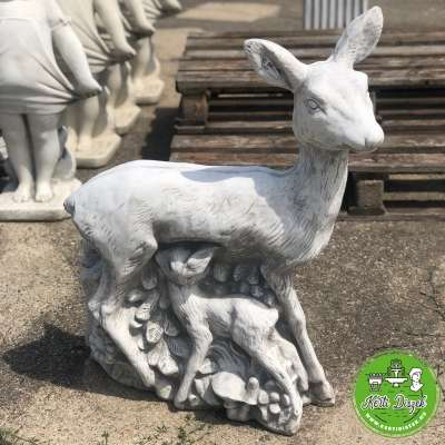 Őz szobor