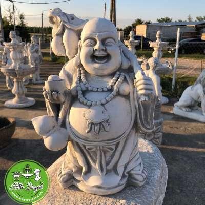 Buddha pocakos álló